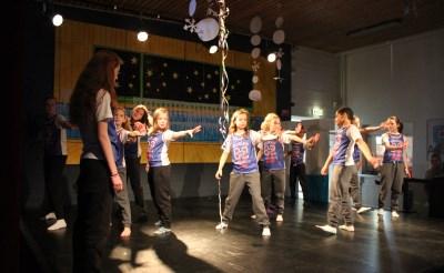 Lekker dansen op Angelaschool