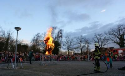 Eendverbranding in Boxtel