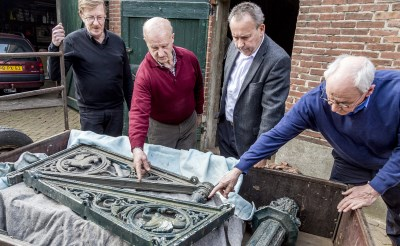 Ornamenten NS-station terug in boxtel