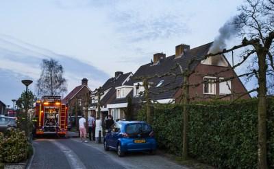 Veel rook bij brand in Esch