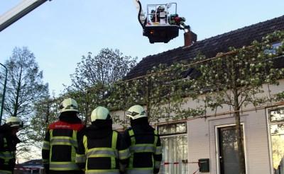 Schoorsteenbrandje in Esch