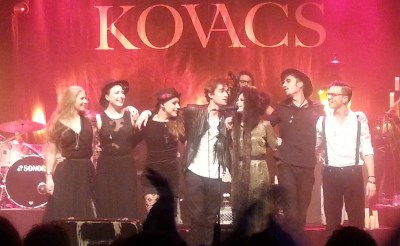 Boxtelse muzikanten kleuren albumpresentatie Kovacs