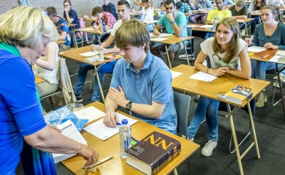 Examens van start in Boxtel