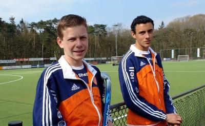 Voormalig MEP-spelers in hockeyselectie Oranje