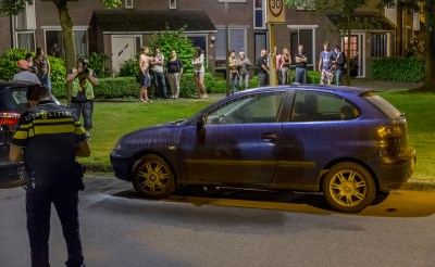 Autobrand in Boxtel-Oost