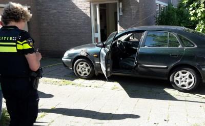 Autobrandje. Alwéér in Breukelen!