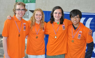Geert Schulpen naar Chemie Olympiade in Bakoe