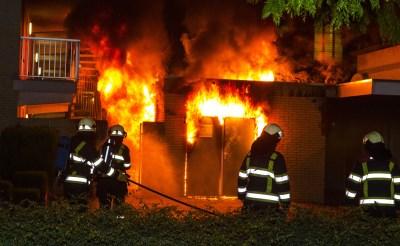 Derde brand in drie dagen...