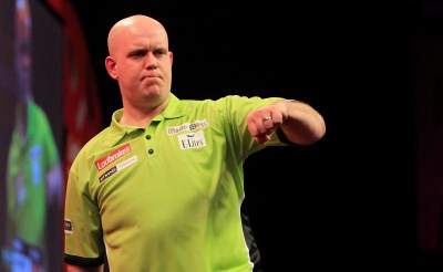 Van Gerwen in dartsfinale