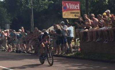 Koen de Kort finisht in Utrecht