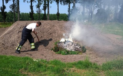 Twee buitenbranden in Liempde