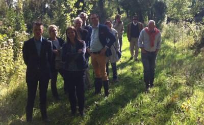Natuurmonumenten bezoekt Dommelbimd in Boxtel