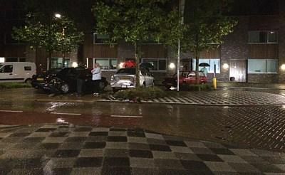 Auto ramt voertuigen in Selissen