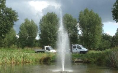 Discussie over fontein