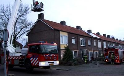 Schoorsteenbrand in Sint-Jozefstraat
