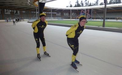 Boxtels duo op ijs Weissensee