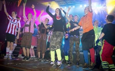 Partyrock in De Rots tijdens carnaval
