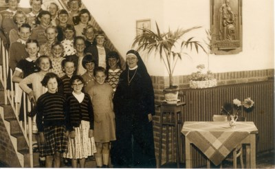 Oude schoolfoto's in Gemonde