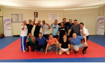 Fitness- en combattraining bij Ad Dekker