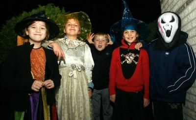 Halloween-disco in De Rots