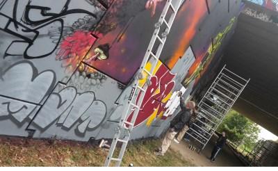 'Graffiti ontdoen van negatief imago'