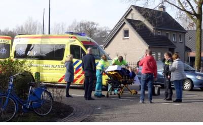 Fietsster gewond na aanrijding