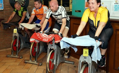 Spinningmarathon 't Geveltje van start