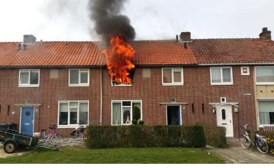 Uitslaande woningbrand Selissenwal