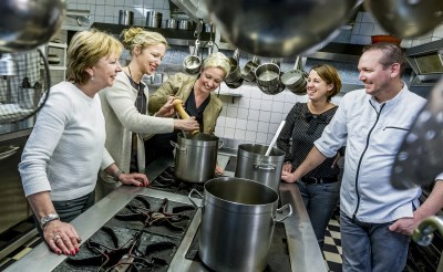 Proeftuin: genieten van culinaire hapjes