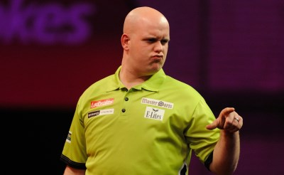 Michael van Gerwen in Ahoy'