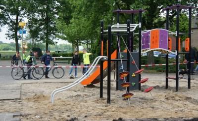 Nieuw klimrek voor basisschool Esch
