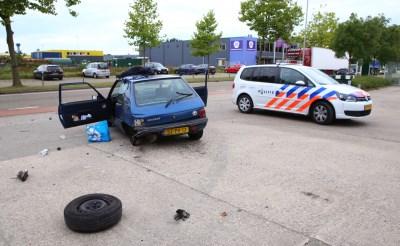 Veel schade bij aanrijding op Ladonk in Boxtel