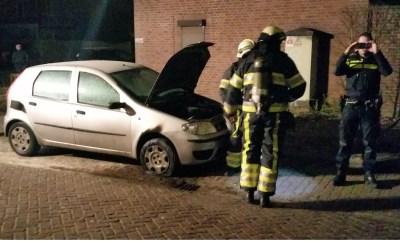 Autobrand in Selissen: brandstichting aannemelijk