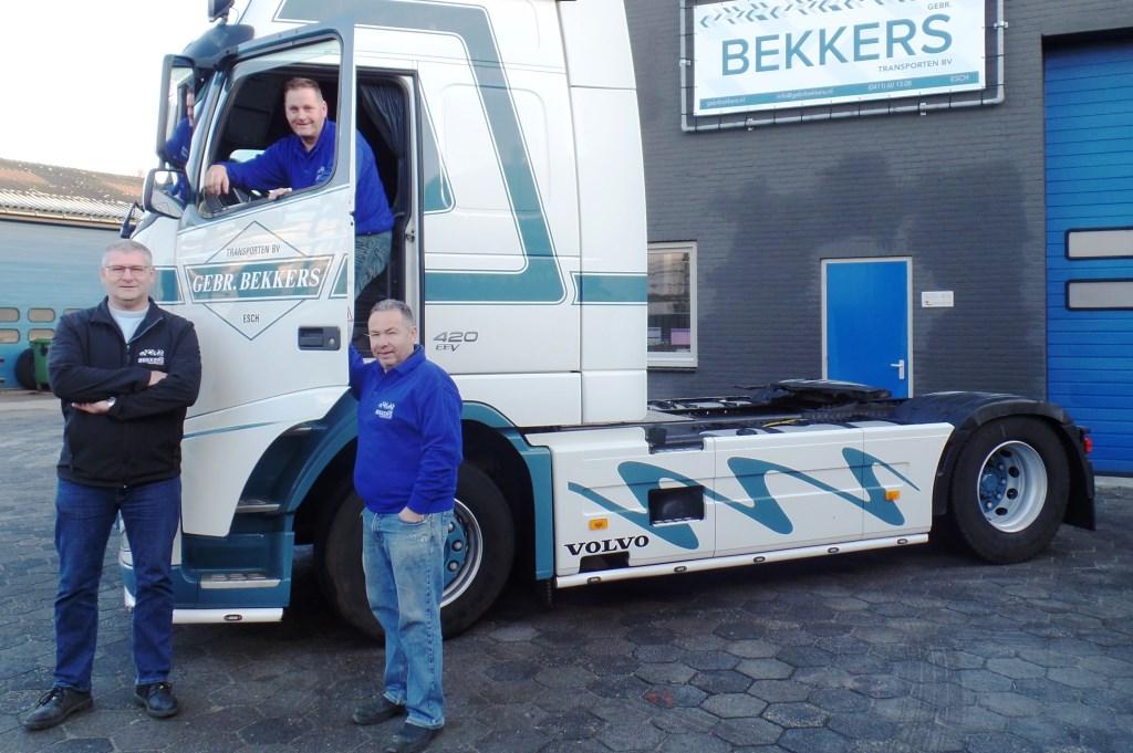 Feest bij transportbedrijf Gebr. Bekkers