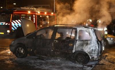 Autobrand Scarlattistraat vermoedelijk aangestoken
