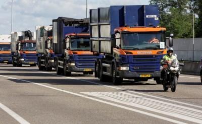 Truck Tour toetert door Boxtel