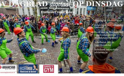 Volop carnaval in digitale dinsdageditie