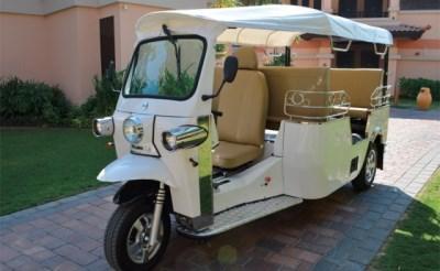 Boxtel krijgt eigen tuktuk