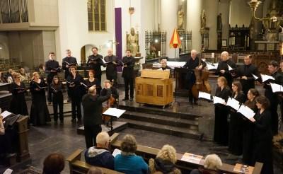 Nederlands Kamerkoor zingt in Petrusbasiliek