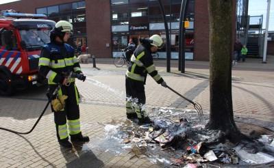Brandje op Stationsplein