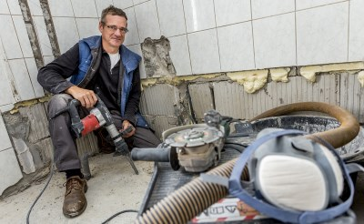 Frans Verhagen al 25 jaar vertrouwd klusser