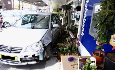 Auto ramt gevel bloemist Marimba