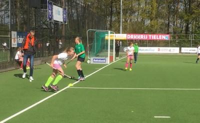 Honderden kinderen sporten op Koningsdag