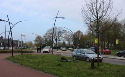 Ongeval op rotonde La Salle