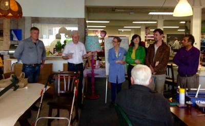 'Repair Café Boxtel: feest van improvisatie'