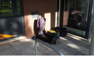 Dakloze bij Sint-Joseph weigert hulp