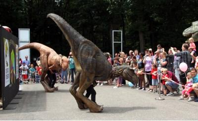 Dino's komen tot leven...