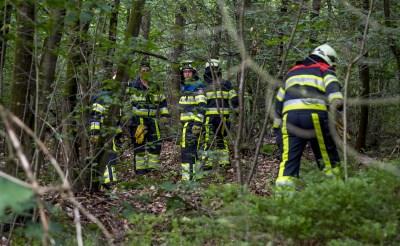 Brandweer blust brandje in Sparrenrijk