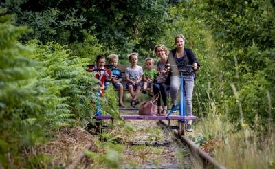 Plan voor railfietsen over deel Duits Lijntje