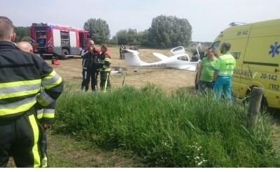 Noodlanding sportvliegtuigje in buitengebied Esch-Haaren